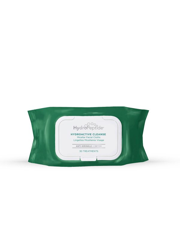 Hydropeptide HydroActive Cleanse (30 wipes)
